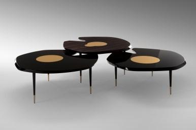 Table basse Fleurette