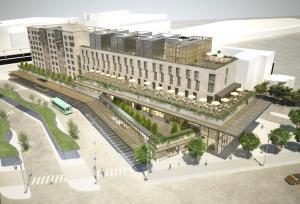 Vue 3D du futur hôtel de Rueil-Malmaison