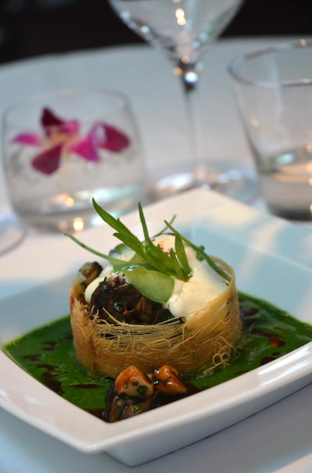 Fricassée d'escargots aux champignons eringy 3