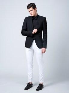 03-veste noire pantalon blanc-1500