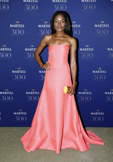 VERSAILLES, FRANCE - MAY 20: Actress Naomie Harris is pictured arriving at Martell Cognac's 300th anniversary event at the iconic Palace of Versailles on May 20, 2015 in Versailles, France. (Photo by Julien M. Hekimian/Getty Images for Martell Cognac)