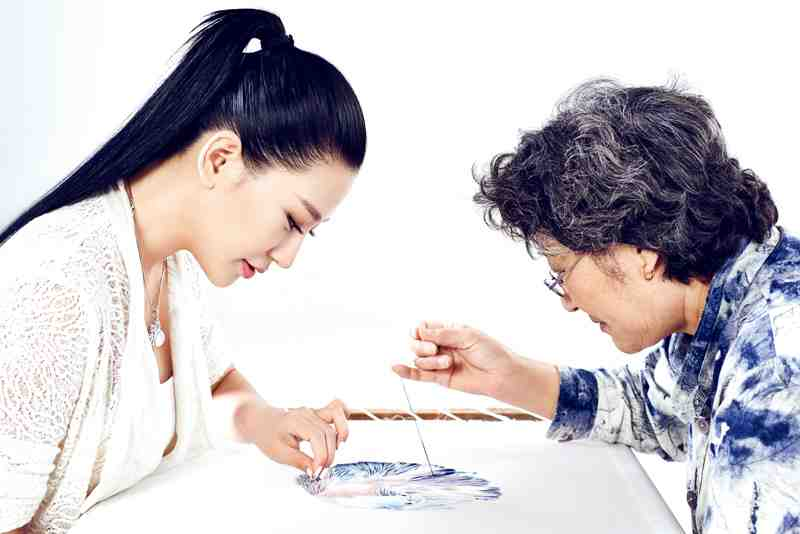 Lan Yu and her mother