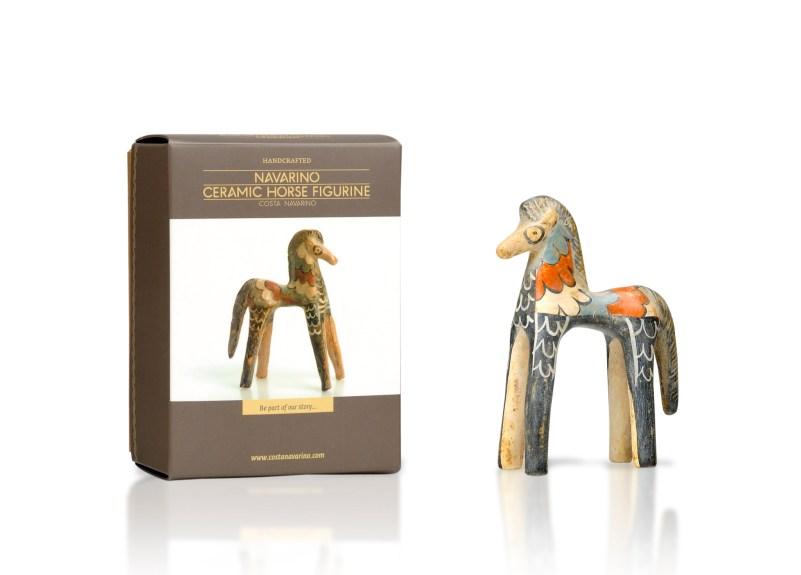 Ceramic Horse Figurine +box
