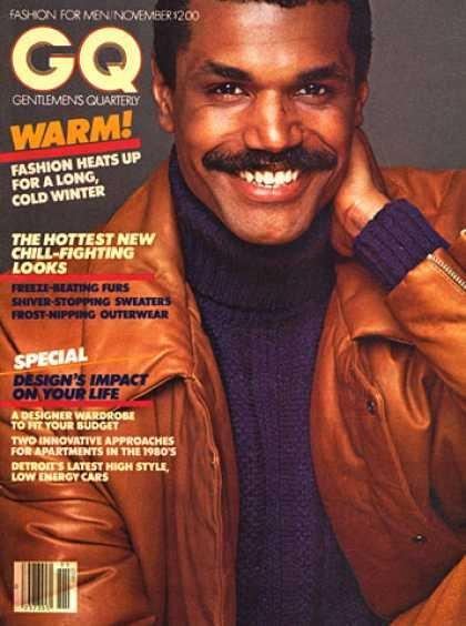 Premier Afro-Américain en couverture de GQ ( 1977)