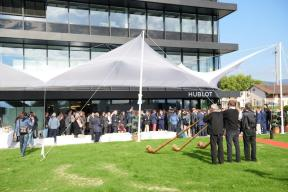 Hublot 2 Official Opening Swissness