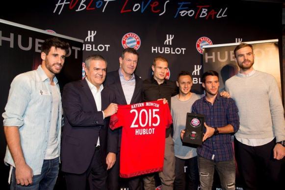 Launch of the Big Bang Unico Bi-Retrograde FC Bayern Munchen4
