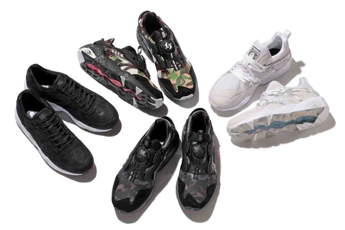 PumaxBape_collection shoes