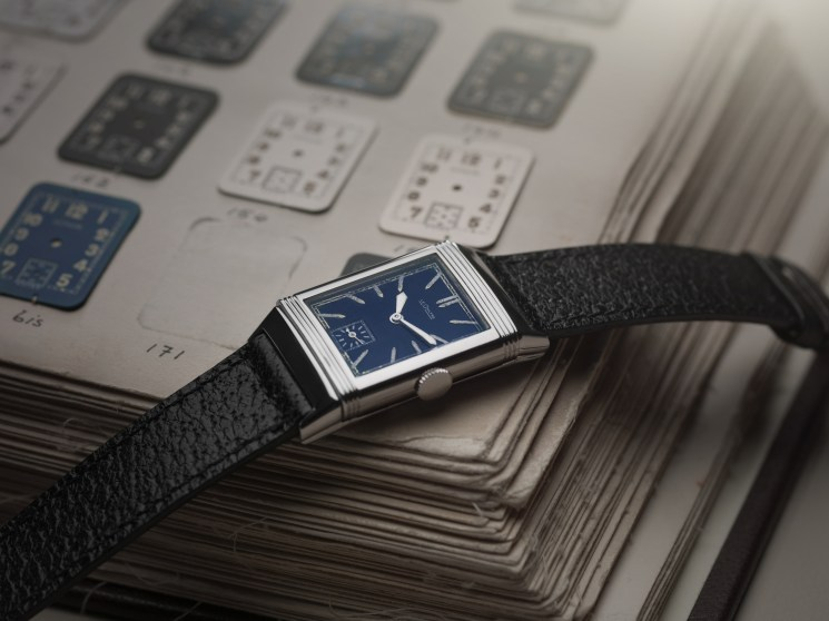 1933 Reverso with blue lacquered dial©JohannSauty