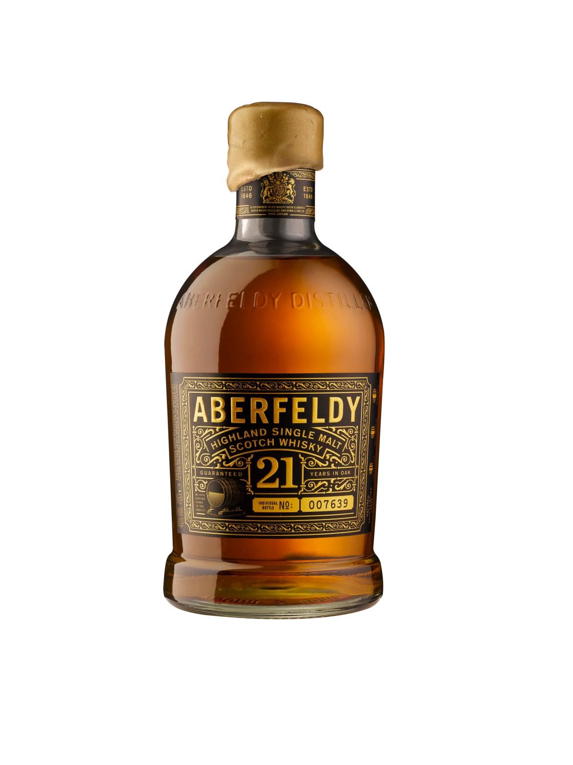 Aberfeldy 21 ans bouteille seule