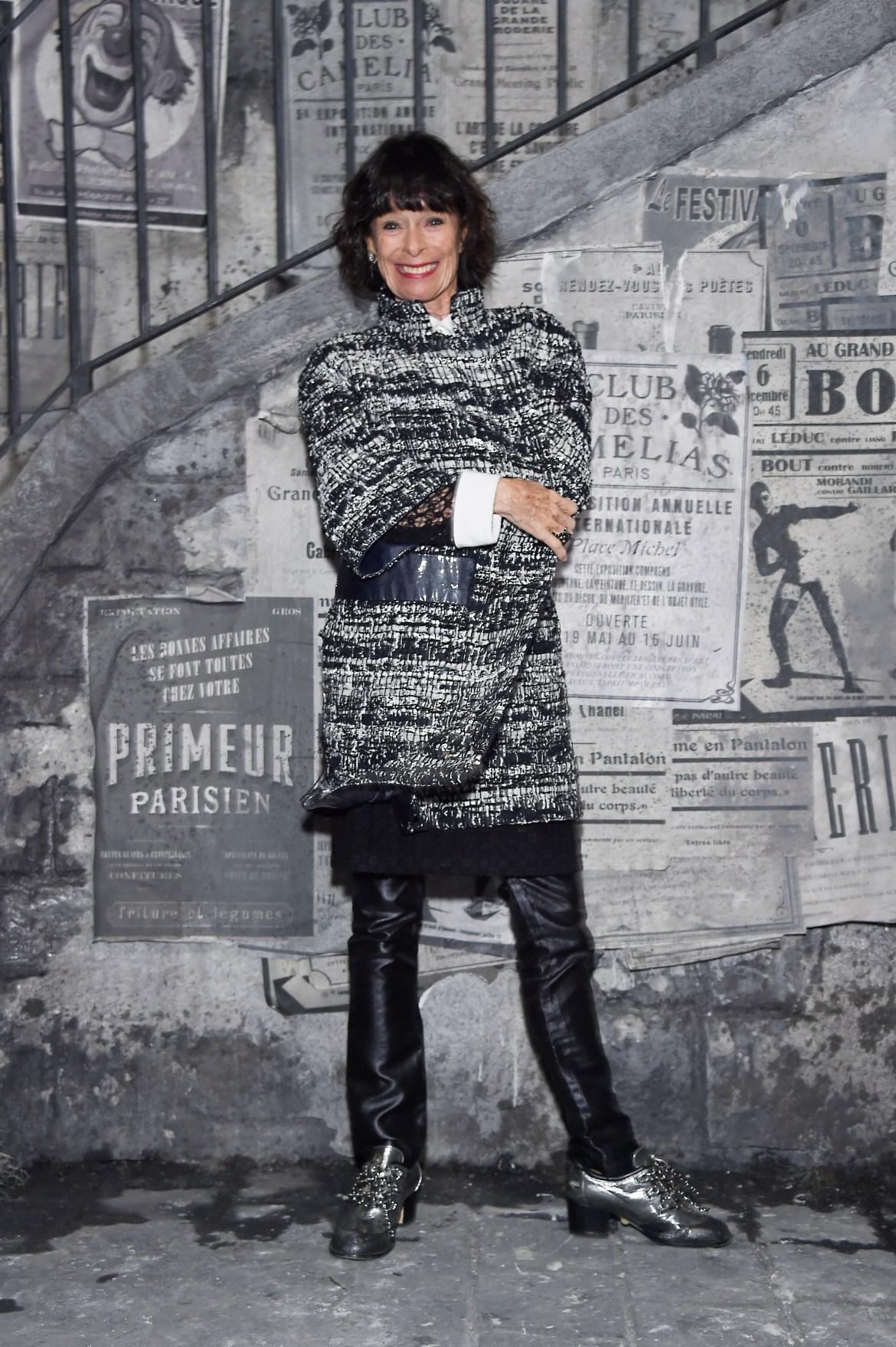Geraldine CHAPLIN_Paris in Rome 2015-16_Teatro N°5-Cinecitta Studios-Rome_Picture by Aldo Castoldi