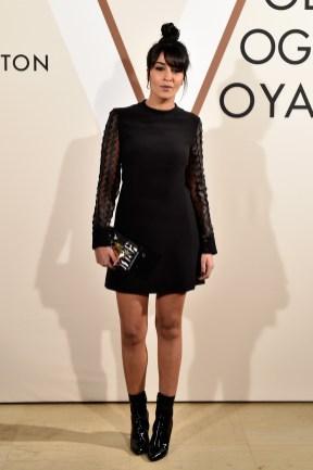 <>'Volez, Voguez, Voyagez - Louis Vuitton' Exhibition Opening at Le Grand Palais on December 3, 2015 in Paris, France.