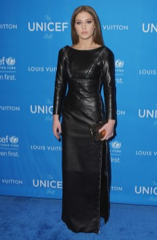 BEVERLY HILLS, CA - JANUARY 12: Actress Adele Exarchopoulos arrives at the 6th Biennial UNICEF Ball at the Beverly Wilshire Four Seasons Hotel on January 12, 2016 in Beverly Hills, California. (Photo by Jon Kopaloff/FilmMagic)