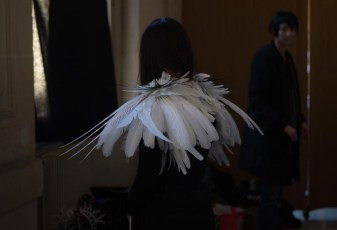 Backstage ON AURA TOUT VU couture photos by emmanuel sarnin (15)