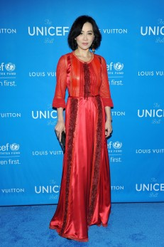 BEVERLY HILLS, CA - JANUARY 12: Actress Carina Lau, wearing Louis Vuitton, attends the Sixth Biennial UNICEF Ball Honoring David Beckham and C. L. Max Nikias presented by Louis Vuitton at Regent Beverly Wilshire Hotel on January 12, 2016 in Beverly Hills, California. (Photo by Donato Sardella/Getty Images for U.S. Fund for UNICEF)