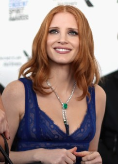 SANTA MONICA, CA - FEBRUARY 27: Actress Jessica Chastain attends the 2016 Film Independent Spirit Awards sponsored by Piaget on February 27, 2016 in Santa Monica, California. (Photo by Joe Scarnici/Getty Images for Piaget) *** Local Caption *** Jessica Chastain