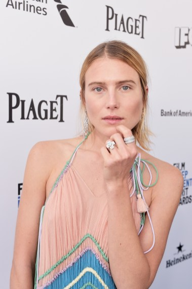 SANTA MONICA, CA - FEBRUARY 27: Model Dree Hemingway attends the 2016 Film Independent Spirit Awards sponsored by Piaget on February 27, 2016 in Santa Monica, California. (Photo by Stefanie Keenan/Getty Images for Piaget) *** Local Caption *** Dree Hemingway