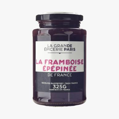 LA GRANDE EPICERIE DE PARIS Confiture Ö la framboise epepinÇe 4e80 300g