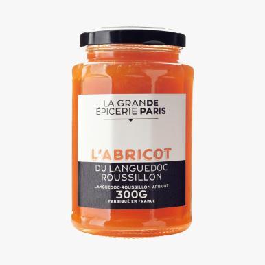 LA GRANDE EPICERIE DE PARIS Confiture Ö l'abricot du languedoc Roussillon 4e80 300g
