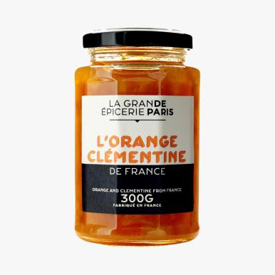LA GRANDE EPICERIE DE PARIS Confiture d'orange clementine 4e80 300g