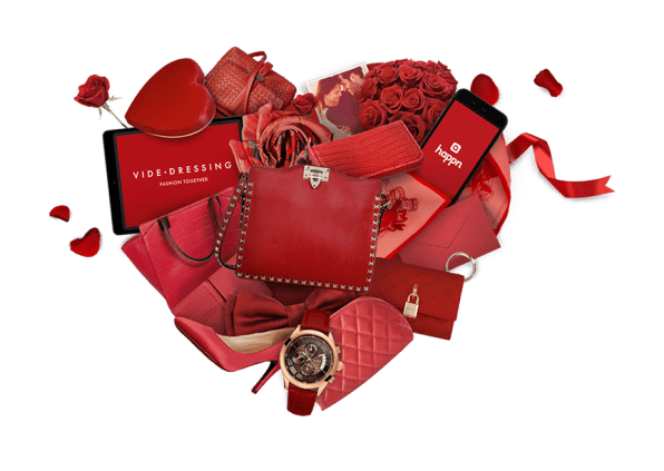 Videdressing x Happn Coeur BD