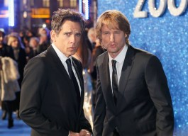 """LONDON, ENGLAND - FEBRUARY 04: Ben Stiller and Owen Wilson attend a London Fan Screening of the Paramount Pictures film """"Zoolander No. 2"""" at the Empire Leicester Square on February 4, 2016 in London, England. (Photo by Getty Images/Getty Images for Paramount Pictures) *** Local Caption *** Ben Stiller;Owen Wilson"""