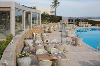 PROVENCE French Restaurant Outside Space By Infinity Pool OCEANIA 2