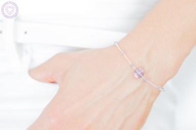 modèle bracelet Amethyste