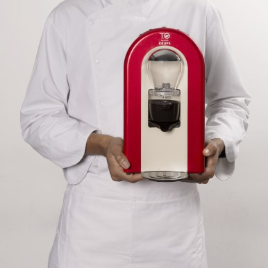 T.O by Lipton - Machine rouge face et chef