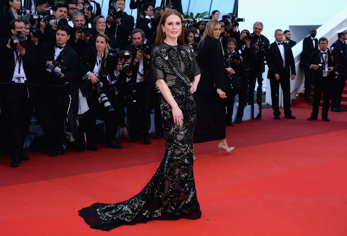 Julianne Moore in Givenchy Haute Couture by Riccardo Tisci - Cannes Film Festival Opening Ceremony