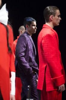 MONTREAL, QUE.: APRIL 5, 2016 -- Helmer au Fashion Preview à l'Agora Hydro Québec à Montreal, Tuesday April 5, 2016. PHOTO: Vincenzo D'Alto / BUREAU DE LA MODE