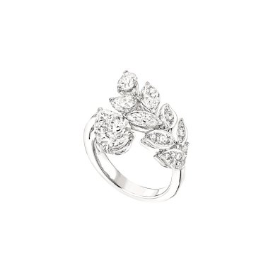 BAGUE BRINS DE DIAMANTS MM Fond blanc