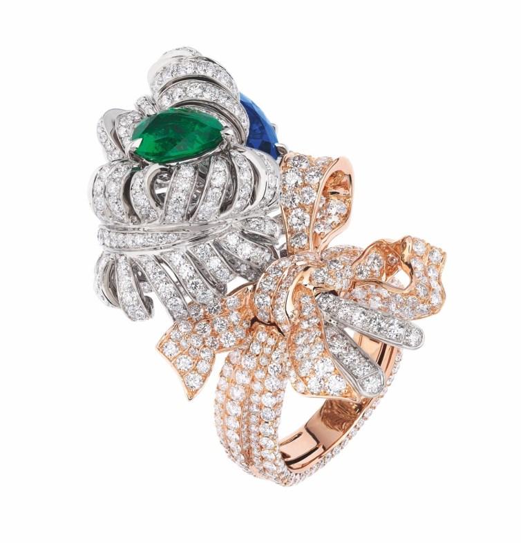 DOUBLE PANACHE SAPHIR RING(2)