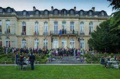 Embassy.. Bulgari Haute Couture. Paris. Italian Embassy. 07/2016 © david atlan