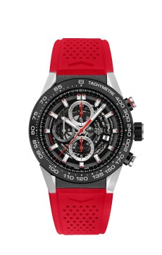 2. CARRERA HEUER-01 NEW VERSIONS 2016_PHOTOS_CAR2A1Z.FT6050 RED RUBBER STRAP 2016