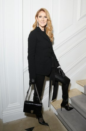 PARIS, FRANCE - JULY 04: Celine Dion attends the Christian Dior Haute Couture Fall/Winter 2016-2017 show as part of Paris Fashion Week at 30, Avenue Montaigne on July 4, 2016 in Paris, France. (Photo by Victor Boyko/Getty Images)