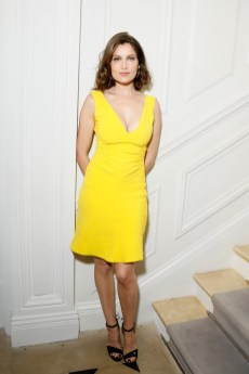 PARIS, FRANCE - JULY 04: Laetitia Casta attends the Christian Dior Haute Couture Fall/Winter 2016-2017 show as part of Paris Fashion Week at 30, Avenue Montaigne on July 4, 2016 in Paris, France. (Photo by Victor Boyko/Getty Images)