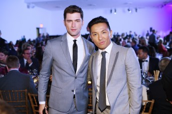 NEW YORK, NY - OCTOBER 17: Sean O'Pry and Prabal Gurung attend the God's Love We Deliver Golden Heart Awards on October 17, 2016 in New York City. (Photo by Dimitrios Kambouris/Getty Images for Michael Kors)