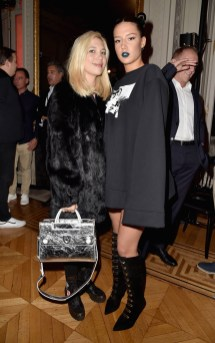 PARIS, FRANCE - SEPTEMBER 28: Camille Seydoux and Adele Exarchopoulos attend FENTY x PUMA by Rihanna at Hotel Salomon de Rothschild on September 28, 2016 in Paris, France. (Photo by Pascal Le Segretain/Getty Images for Fenty x Puma)