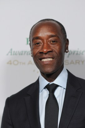 HOLLYWOOD, CA - NOVEMBER 15: Actor/presenter Don Cheadle attends the 2016 Rolex Awards for Enterprise at the Dolby Theatre on November 15, 2016 in Hollywood, California. (Photo by Emma McIntyre/Getty Images for Rolex Awards for Enterprise )