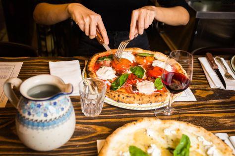 Biglove Caffè - Pizza sans gluten - Credit photo Sébastien Pontoizeau
