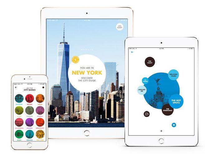 Louis Vuitton City Guide Paris gratuit sur l'App Store