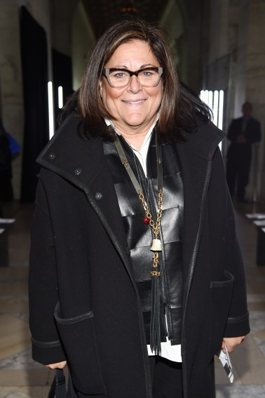 NEW YORK, NY - FEBRUARY 13: Fern Mallis attends the Front Row for the Philipp Plein Fall/Winter 2017/2018 Women's And Men's Fashion Show at The New York Public Library on February 13, 2017 in New York City. (Photo by Dimitrios Kambouris/Getty Images for Philipp Plein)