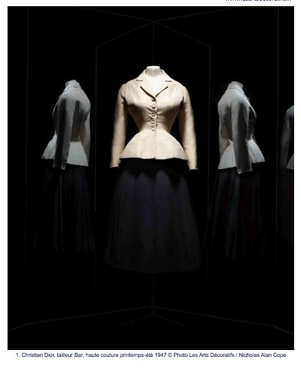 Christian Dior au musée des Arts décoratifs