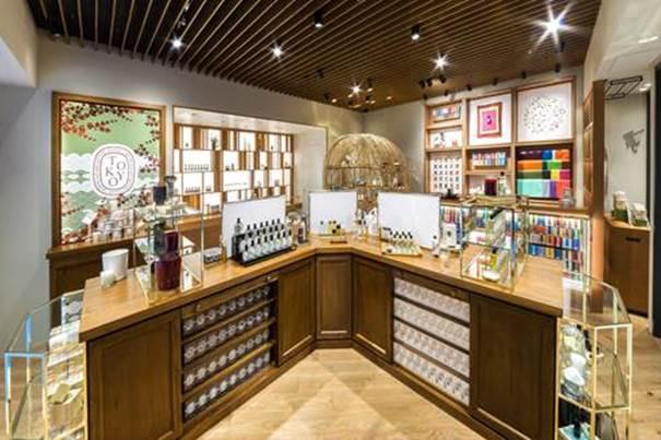 diptyque ouvre sa seconde boutique à Tokyo