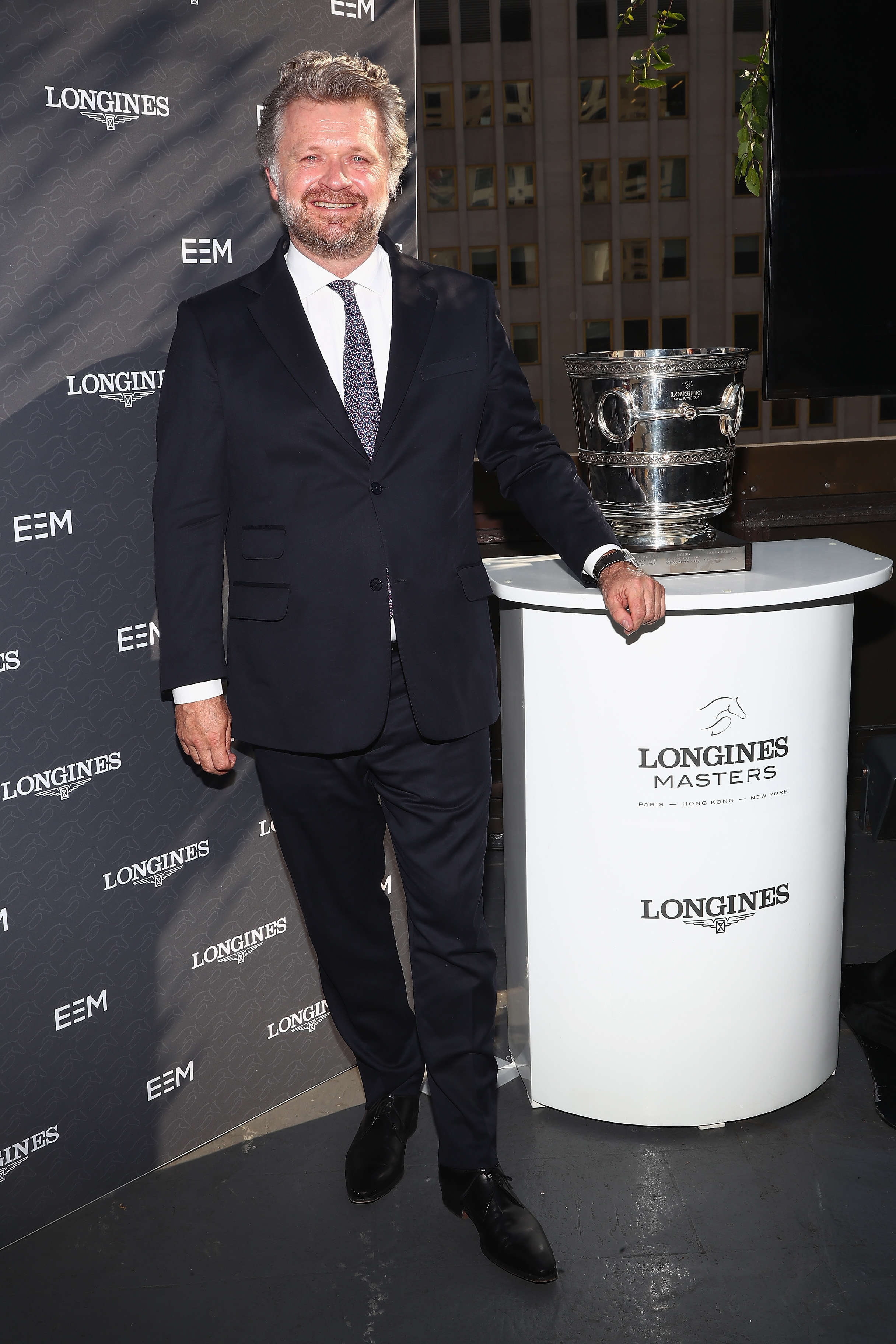 NEW YORK, NY - MAY 17: Christophe Ameeuw, Founder and CEO of EEM, creators of the Longines Masters Series attends the Longines Masters launch party celebrating Series' epic move to New York at Salon de Ning on May 17, 2017 in New York City. (Photo by Astrid Stawiarz/Getty Images for Longines)