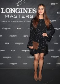 NEW YORK, NY - MAY 17: Ariana Rockefeller attends the Longines Masters launch party celebrating Series' epic move to New York at Salon de Ning on May 17, 2017 in New York City. (Photo by Astrid Stawiarz/Getty Images for Longines)