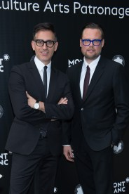 MADRID, SPAIN - MAY 04: Sam Bardaouil and Till Fellrath attend Montblanc de la Culture Arts Patronage Award at the Madrid Palacio Liria on May 4, 2017 in Madrid, Spain. (Photo by Carlos Alvarez/Getty Images for Montblanc)