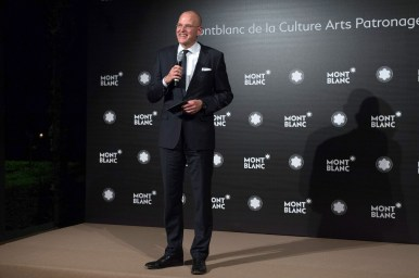 MADRID, SPAIN - MAY 04: Jens Henning Koch attend Montblanc de la Culture Arts Patronage Award At The Madrid Palacio Liria - Cocktail and Dinner on May 4, 2017 in Madrid, Spain. (Photo by Carlos Alvarez/Getty Images for Montblanc)