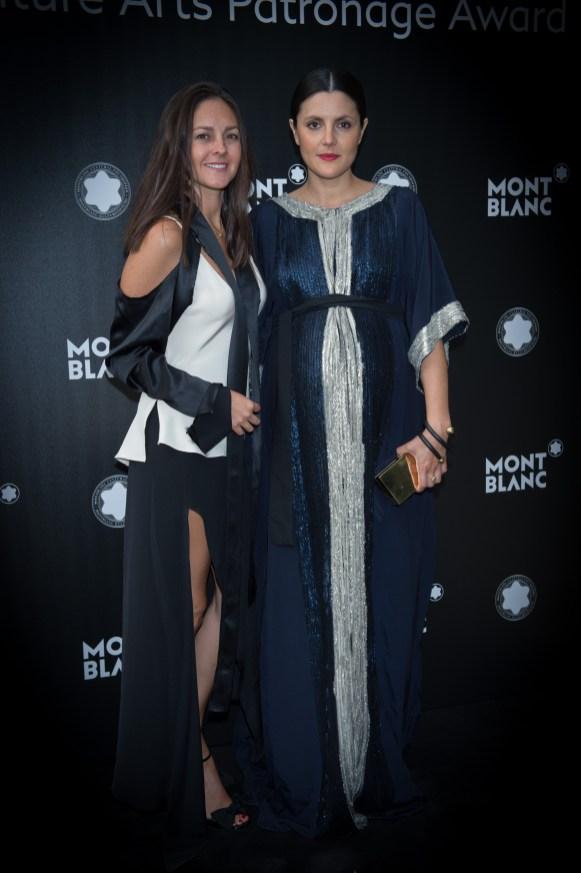 MADRID, SPAIN - MAY 04: Eugenia Gonzalez and Brenda Diaz de la Vega attend Montblanc de la Culture Arts Patronage Award at the Madrid Palacio Liria on May 4, 2017 in Madrid, Spain. (Photo by Carlos Alvarez/Getty Images for Montblanc)