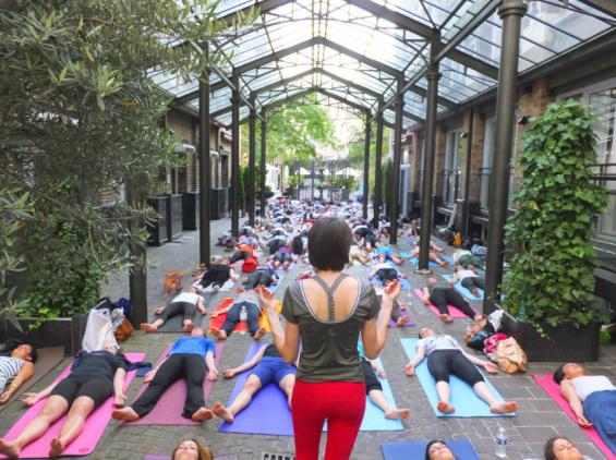 Les Jardins du Marais - Cours de Yoga
